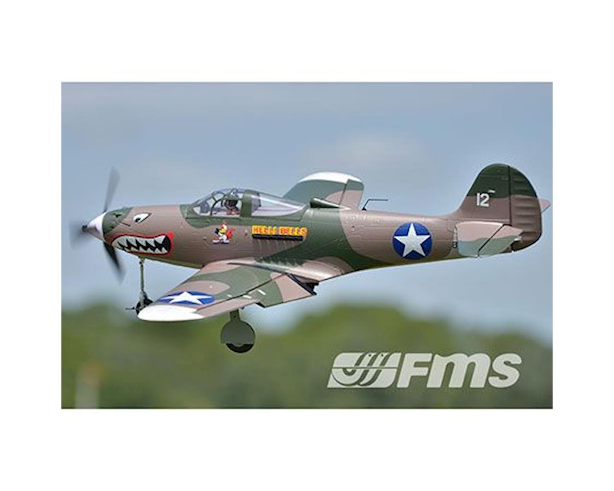 FMS P-39,Hells Bells,Camo, PNP,980mm