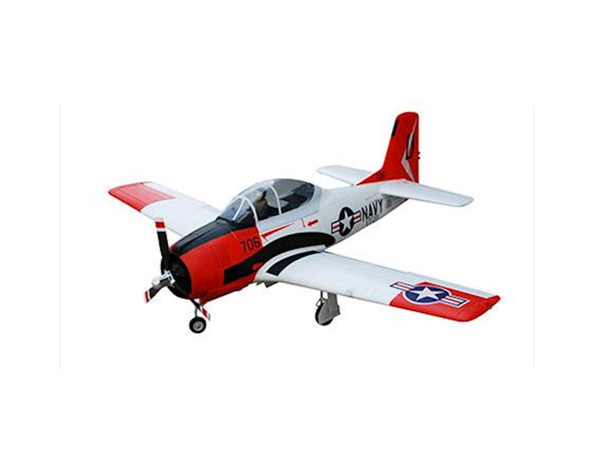 FMS T-28D V4 Plug-N-Play Electric Airplane (1400mm)