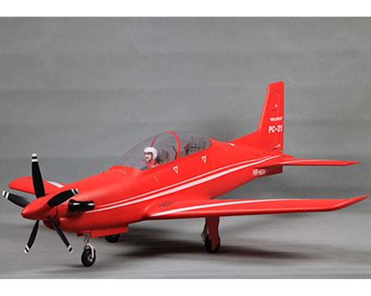 FMS PC-21 Plug-N-Play Electric Airplane (1100mm)