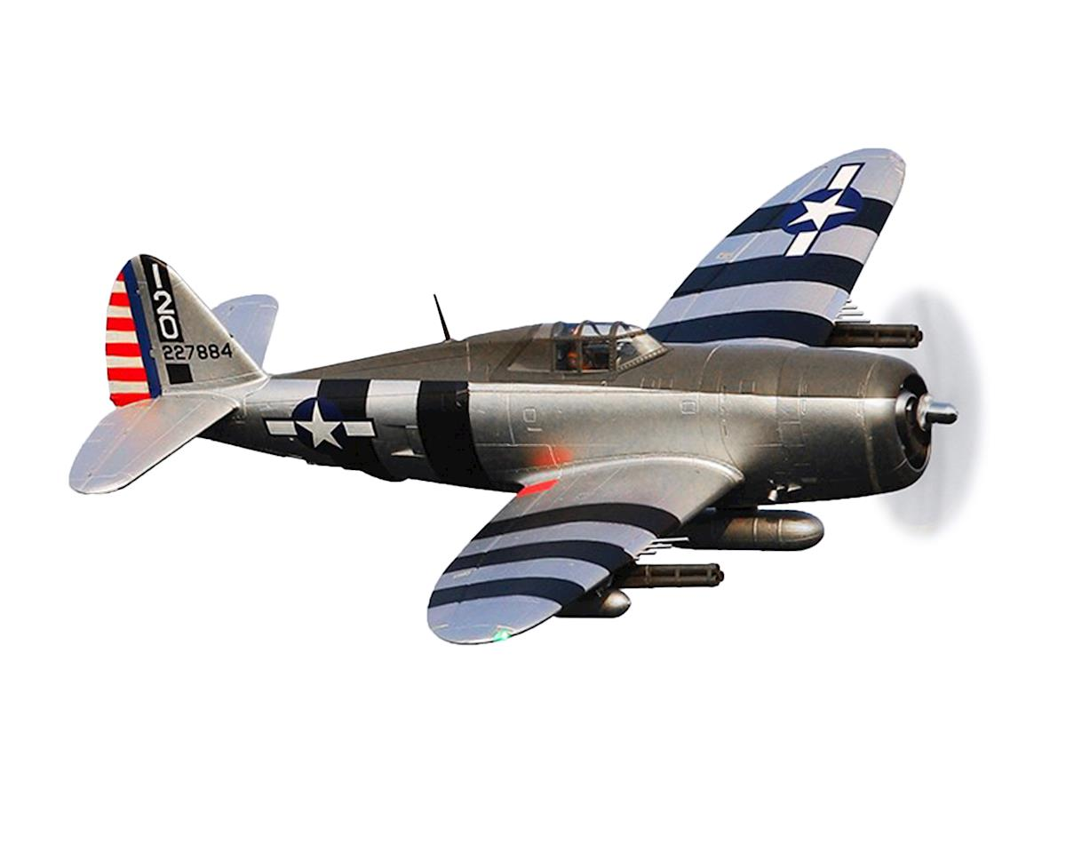 P-47 Razorback Warbird Plug-N-Play Airplane (1500mm) (Bonnie) by FMS