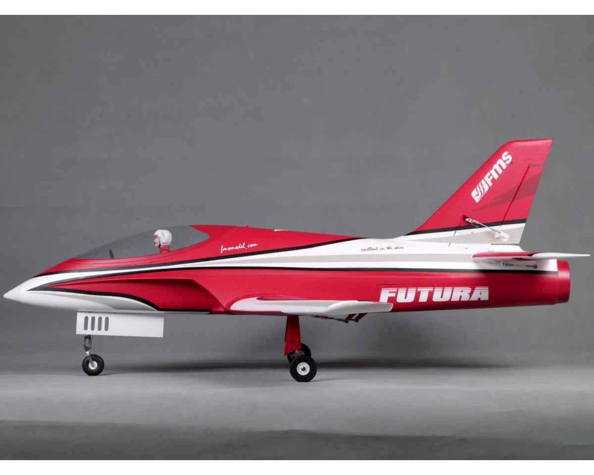 FMS Futura Jet PNP 1060mm, Red