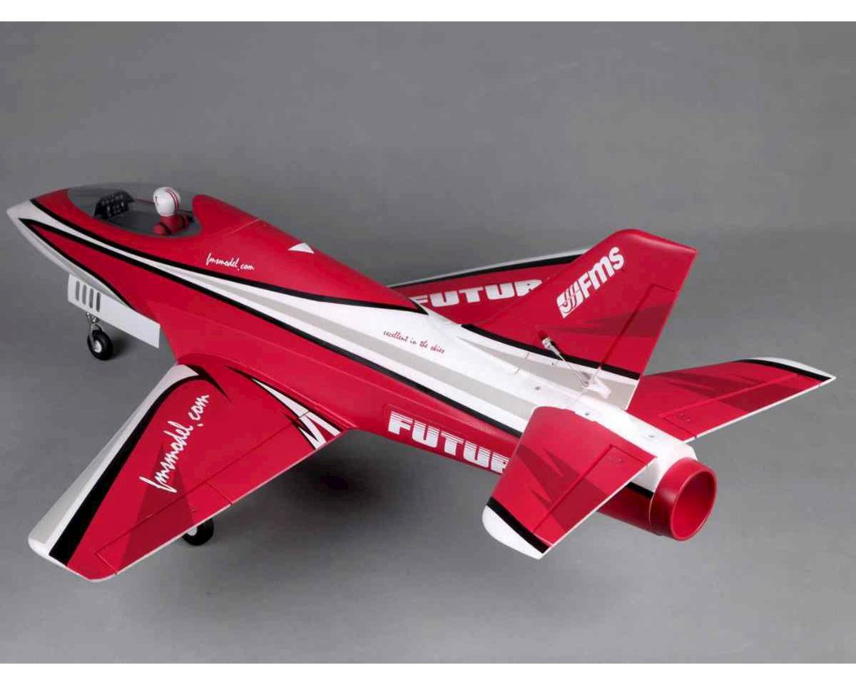 FMS Futura Plug-N-Play Electric Ducted Fan Jet Airplane (Red) (1060mm)