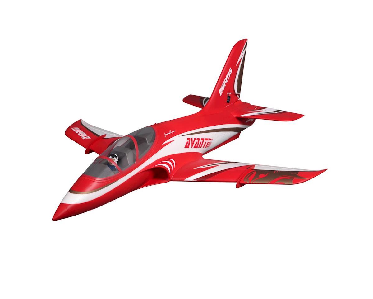 Fms Avanti 70mm Red Fmm097pred Airplanes Amain Hobbies