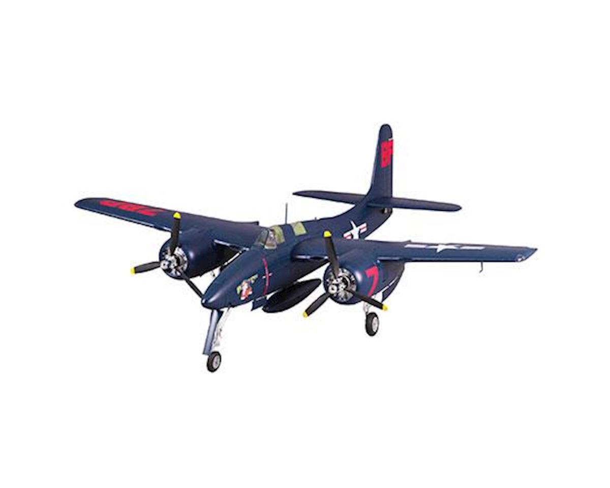 FMS F7F Tigercat Plug-N-Play Electric Airplane (Blue) (1700mm)