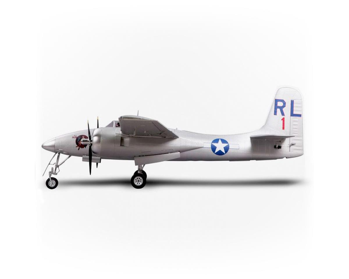 FMS F7F Tigercat Plug-N-Play Electric Airplane (Silver) (1700mm)