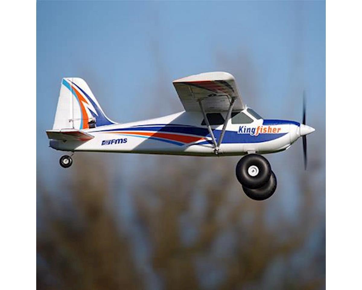 FMS Kingfisher Plug-N-Play w/Wheels, Floats, Skis & Flaps (1400mm)