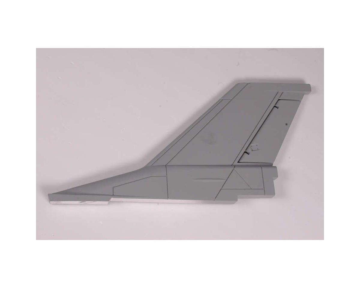 FMS Rudder: F16, Grey, EPS