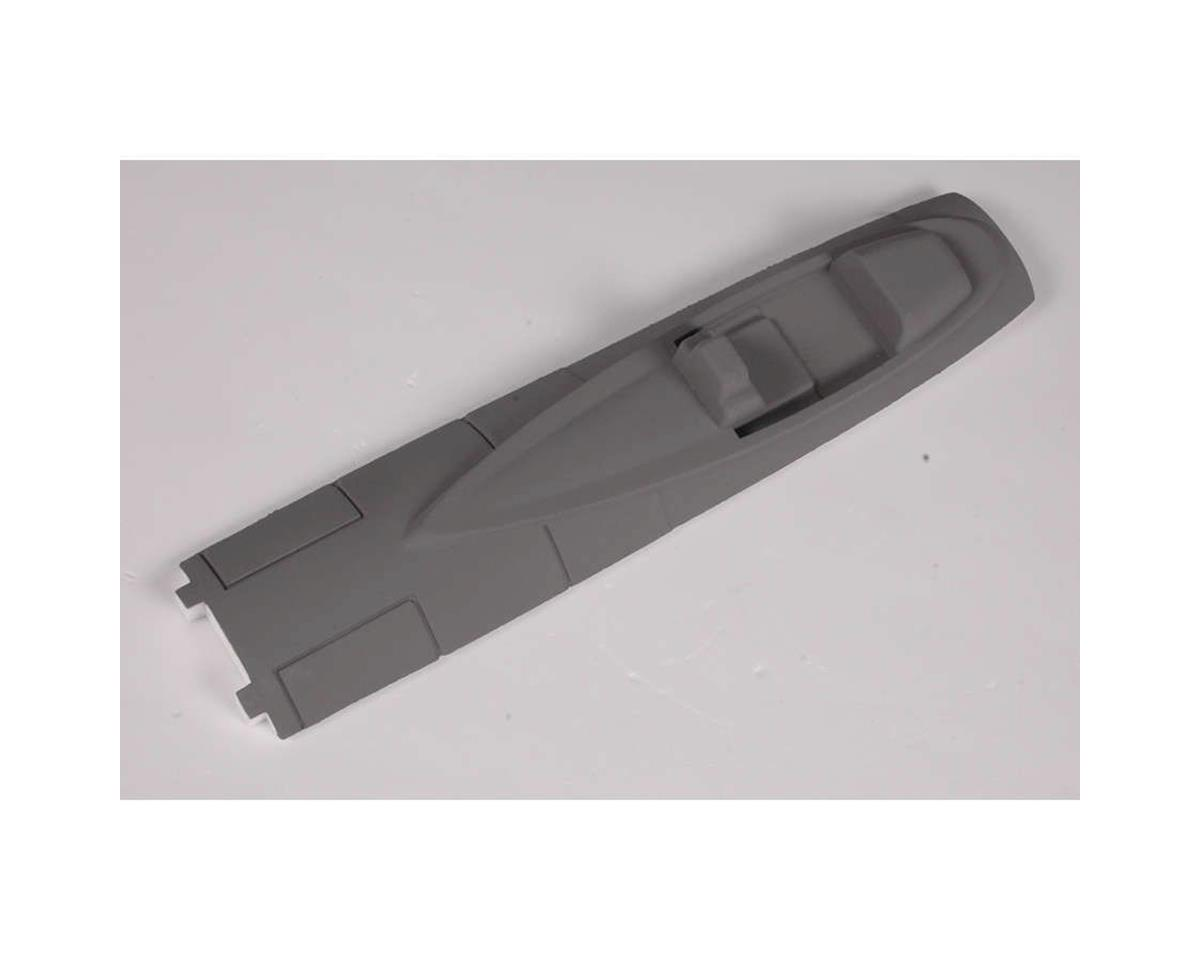 FMS Foam Canopy: F16, Grey, EPS