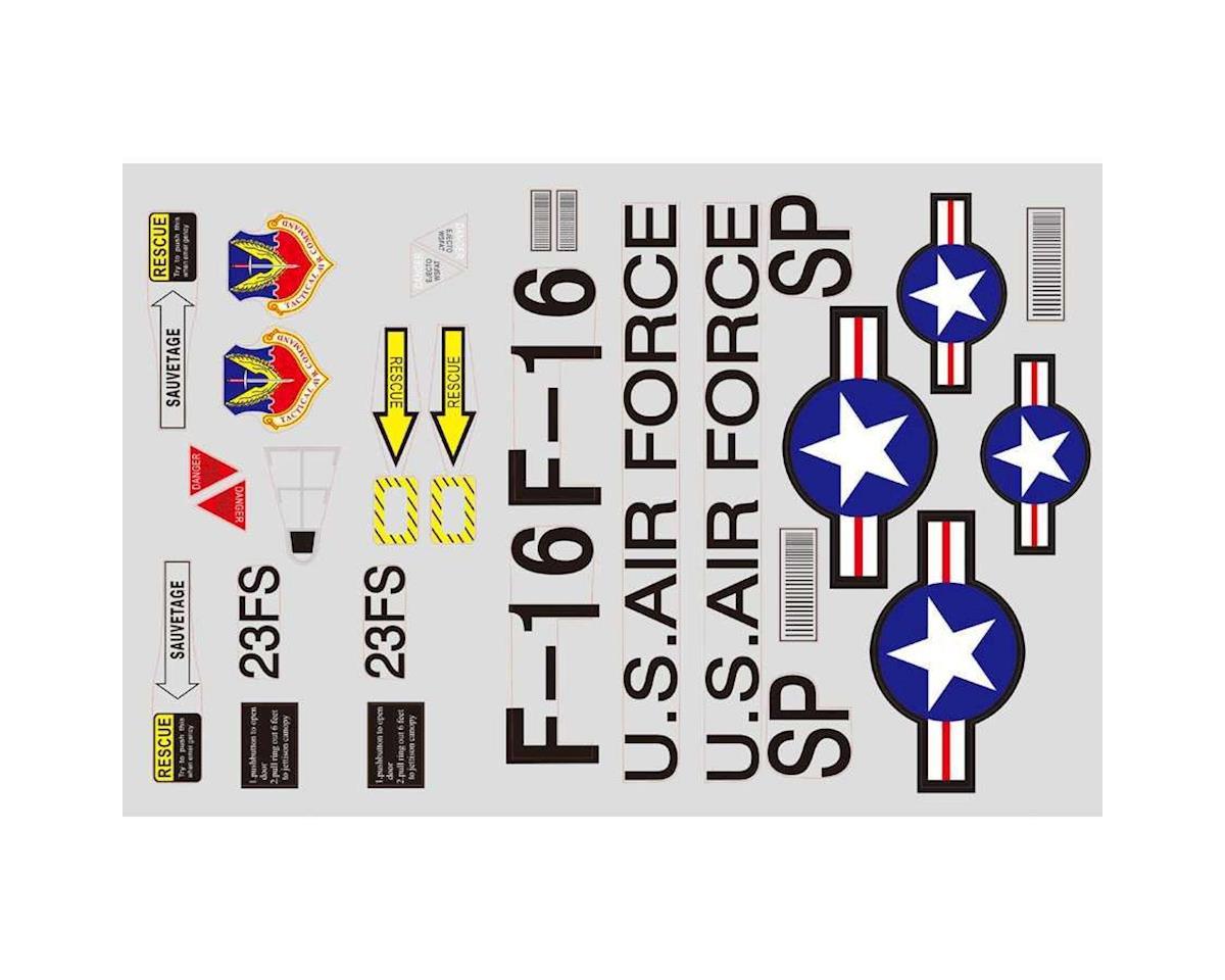 FMS Sticker: F16, Grey