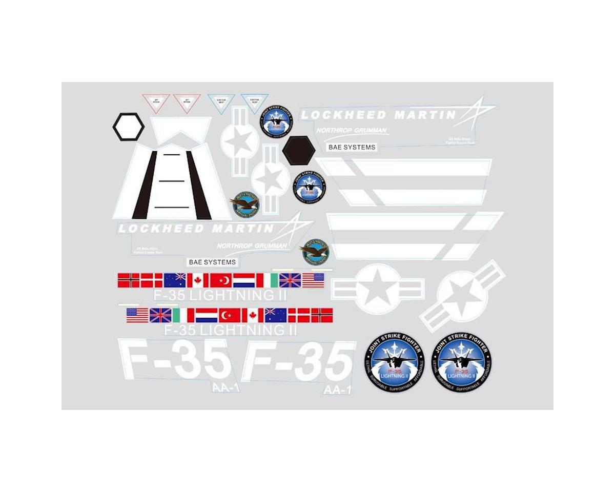 Sticker, Grey: EPO, F35 by FMS