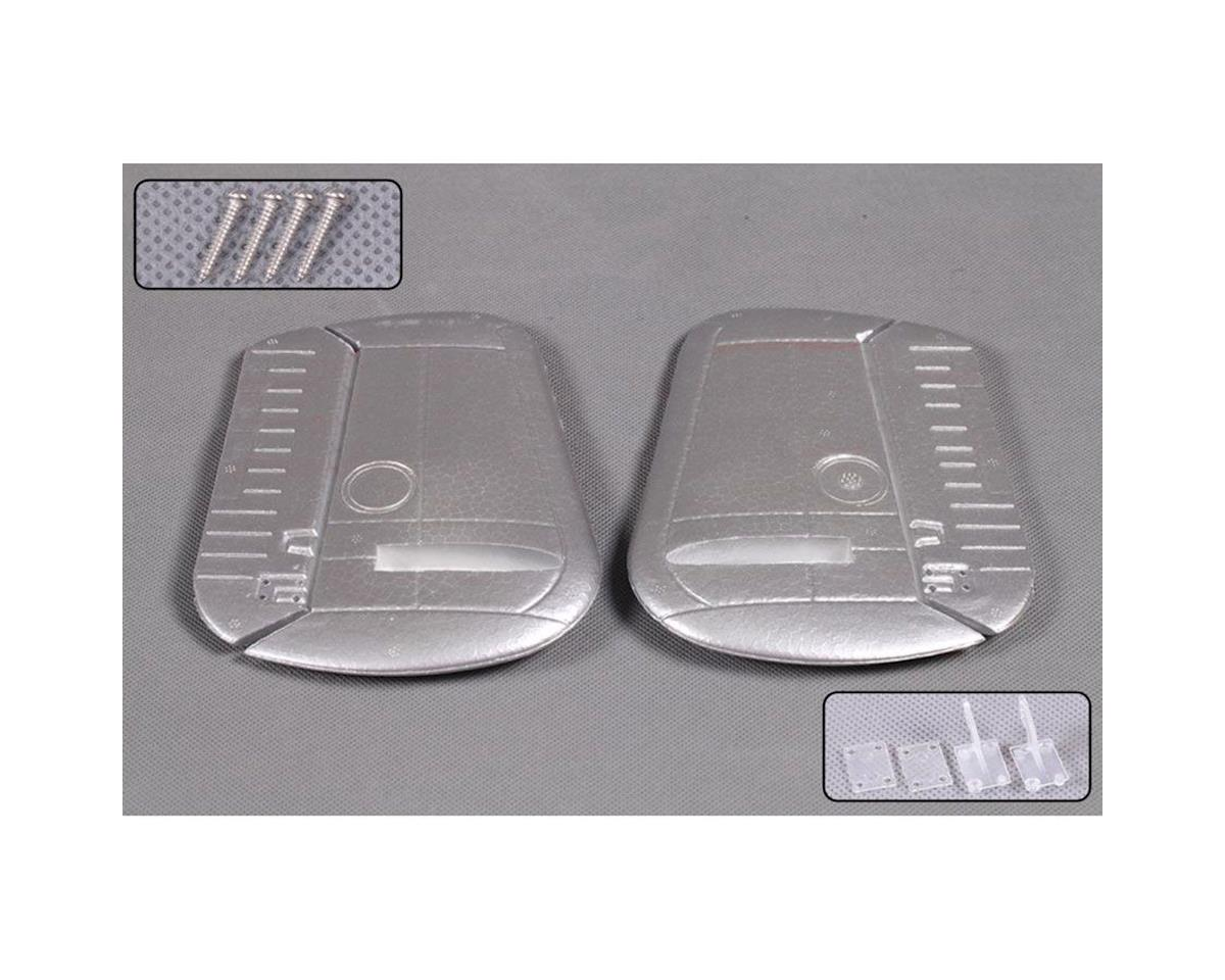 FMS Rudder, Silver: B25 1400mm