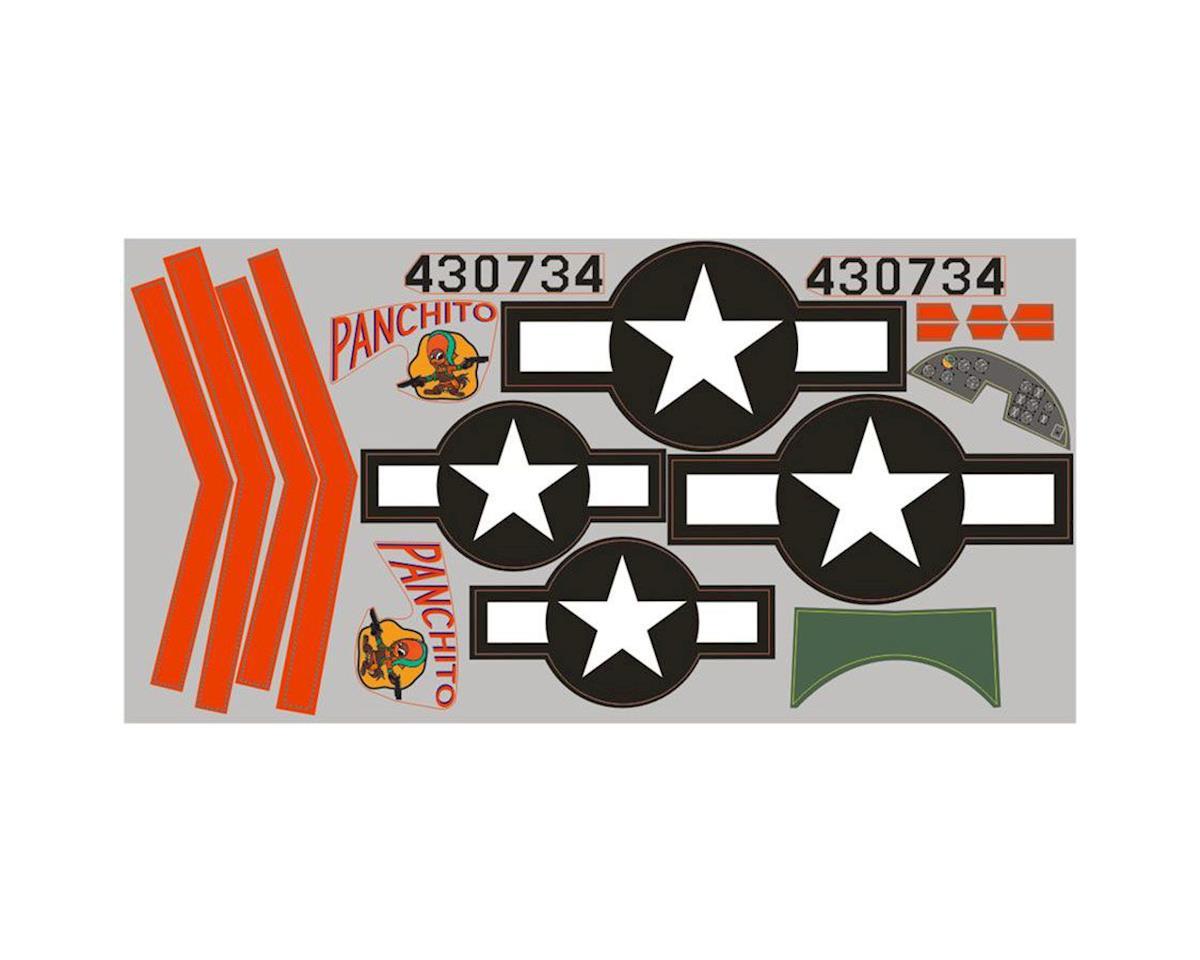 FMS Sticker: B25 1400mm, Silver