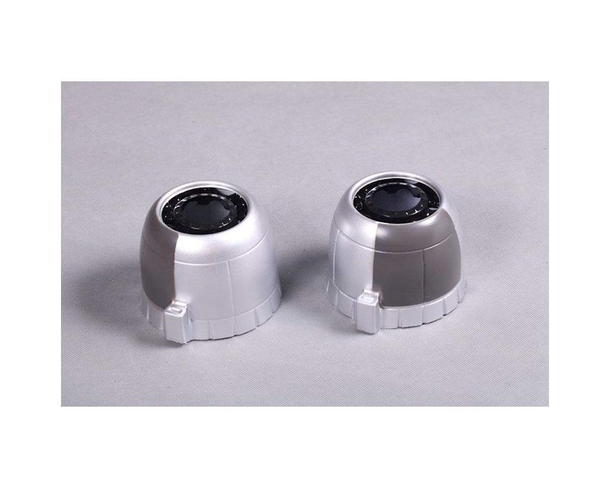 FMS Engine Cowl: B25 1400mm, Silver