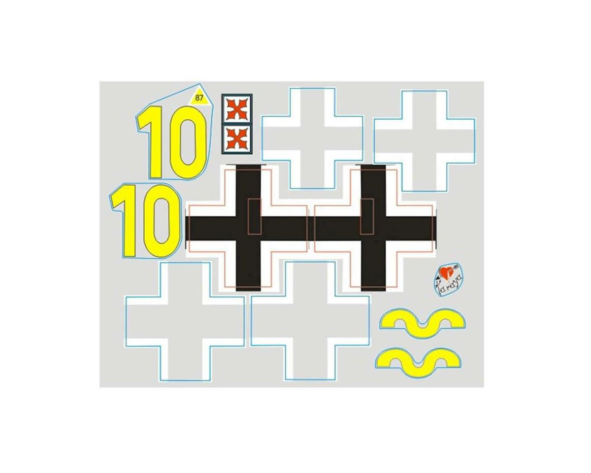 FMS Decal Sheet: BF109 800mm