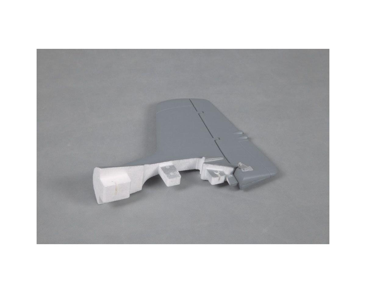 FMS Vertical Stabilizer, Silver :T28 V4 1400mm
