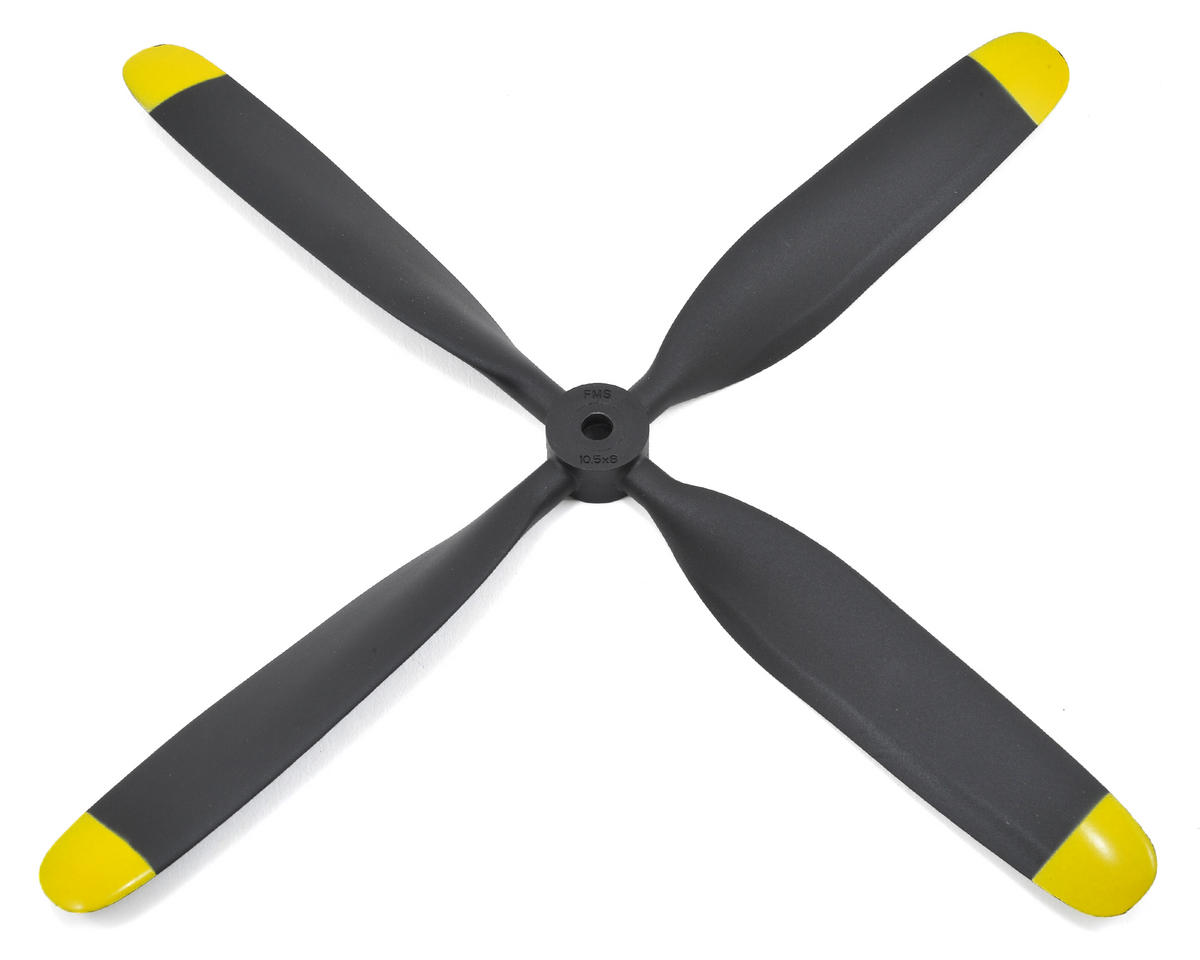 4-Blade Propeller by FMS