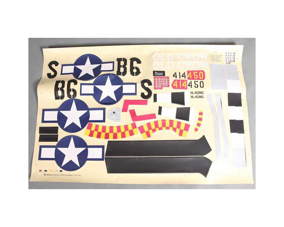 FMS Decal: P51D Old Crow 1400mm