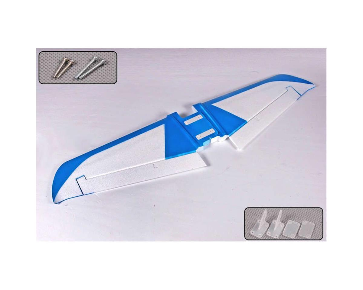 Main Wing, Blue: Edge 540 by FMS