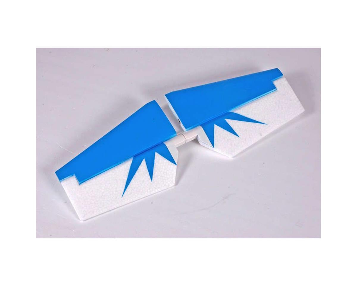 FMS Horizontal Stabalizer, Blue: Edge 540