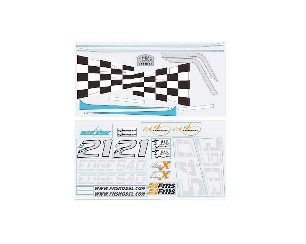 FMS Decal Sheet: Edge 540