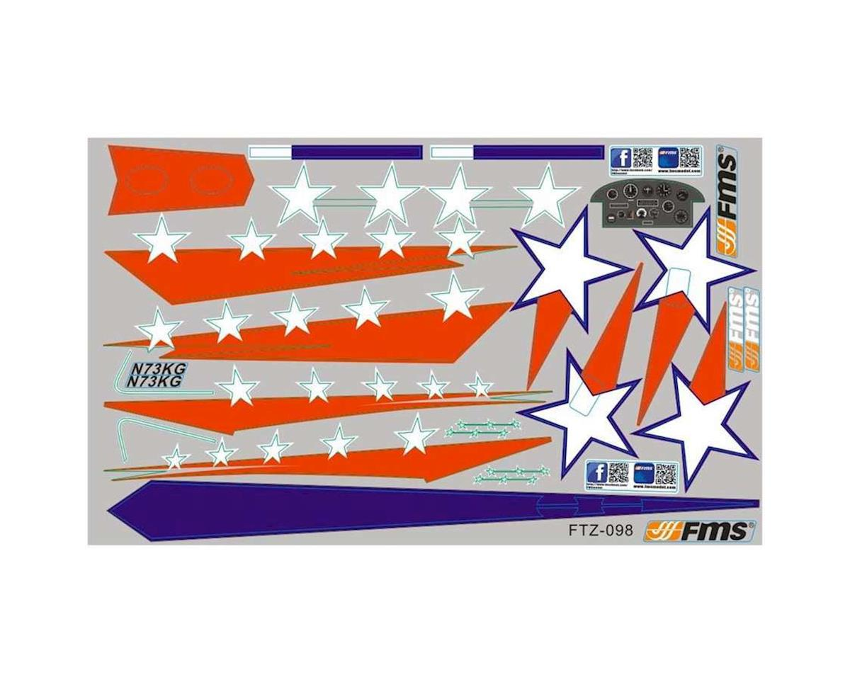 Fms Decal Sheet Extra 300 Fmmsz120 Airplanes Amain