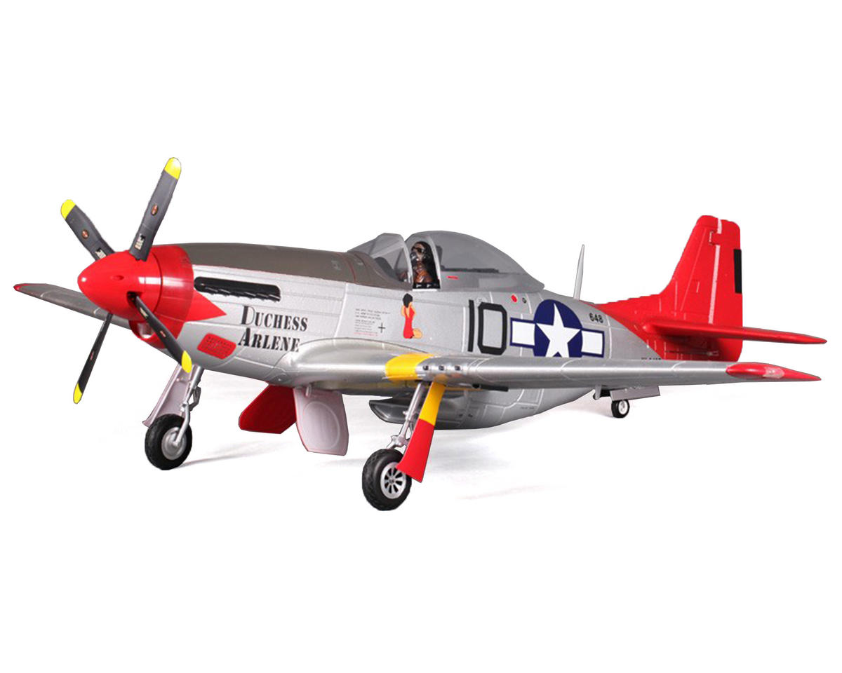 FMS P-51D Mustang V8 Warbird Plug-N-Play Airplane (Duchess Arlene) (1450mm)