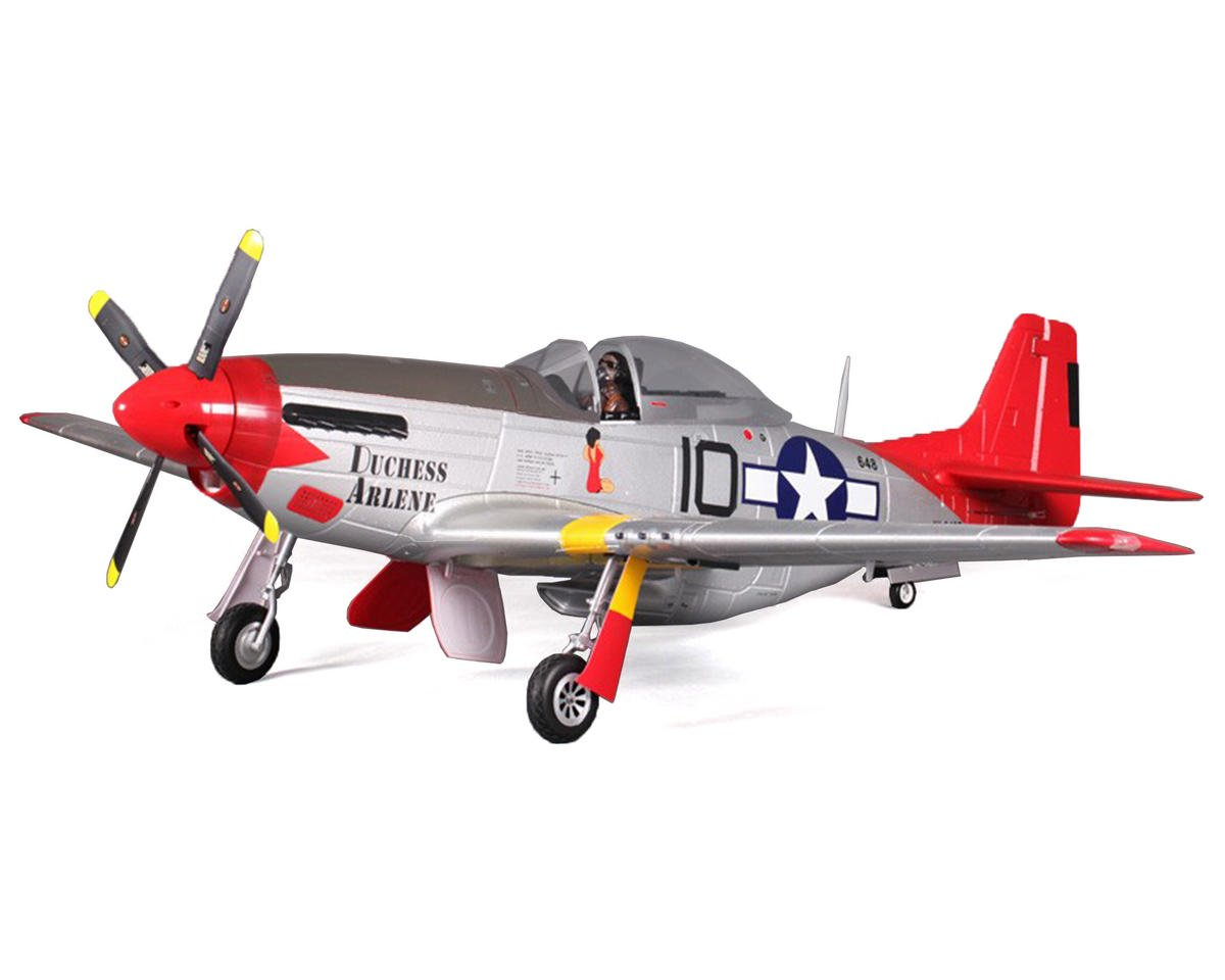 P-51D Mustang V8 Warbird Plug-N-Play Airplane (1450mm) (Duchess Arlene) by FMS