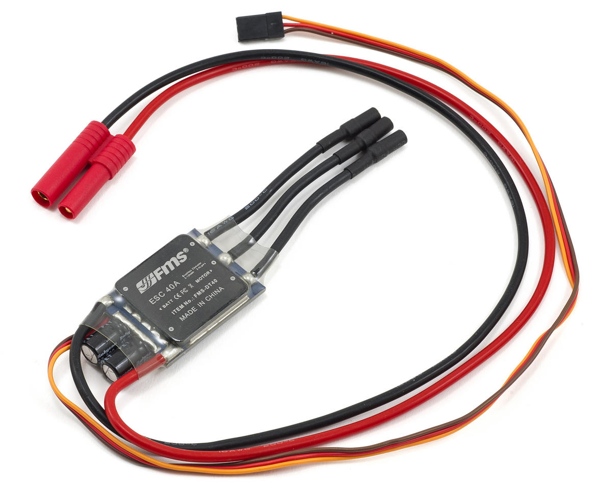 FMS B-25 Mitchell 40-Amp Brushless ESC