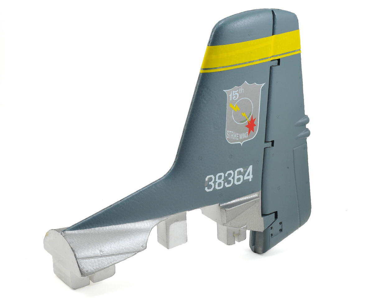 FMS Vertical Stabilizer (Silver)
