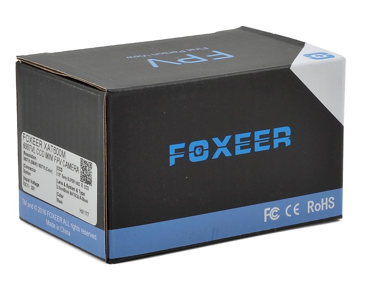 Foxeer XAT600M 600TVL CCD FPV Camera (2.5 HQ Lens/IR Block)