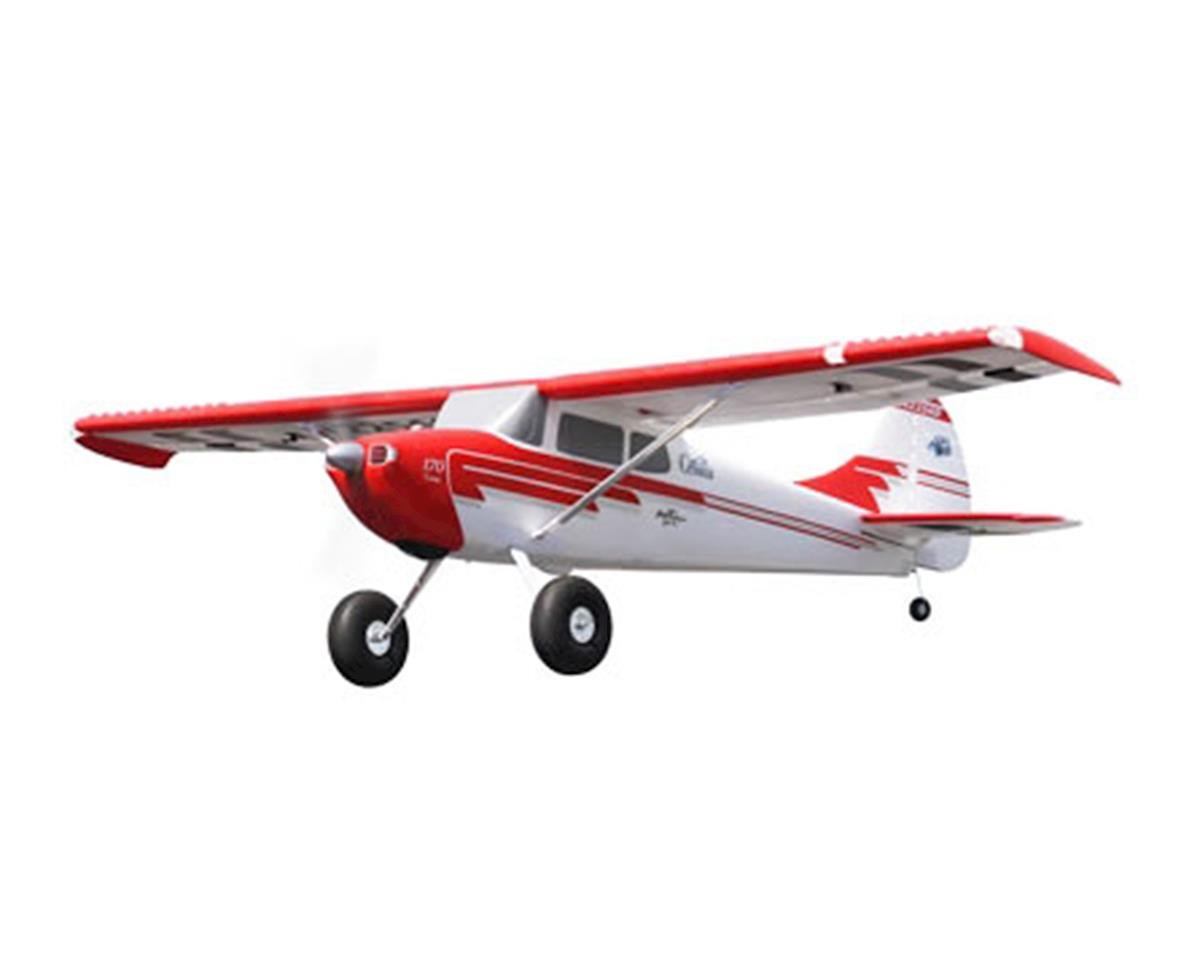 Flex Innovations Cessna 170 Super PNP Electric Airplane (Red) (2204mm)
