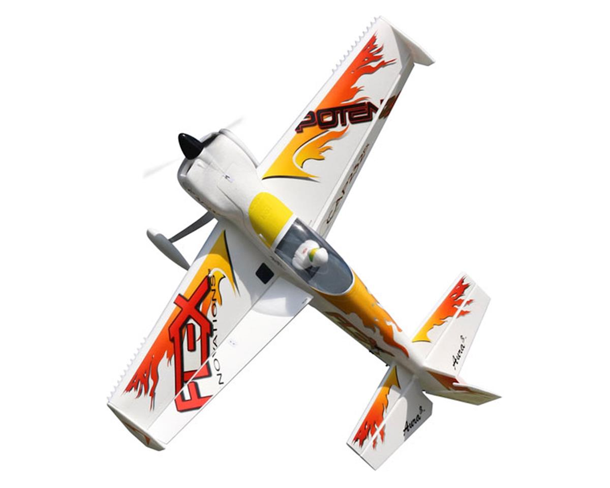 Flex Innovations QQ Cap 232EX Super PNP Electric Airplane (Yellow) (1531mm)