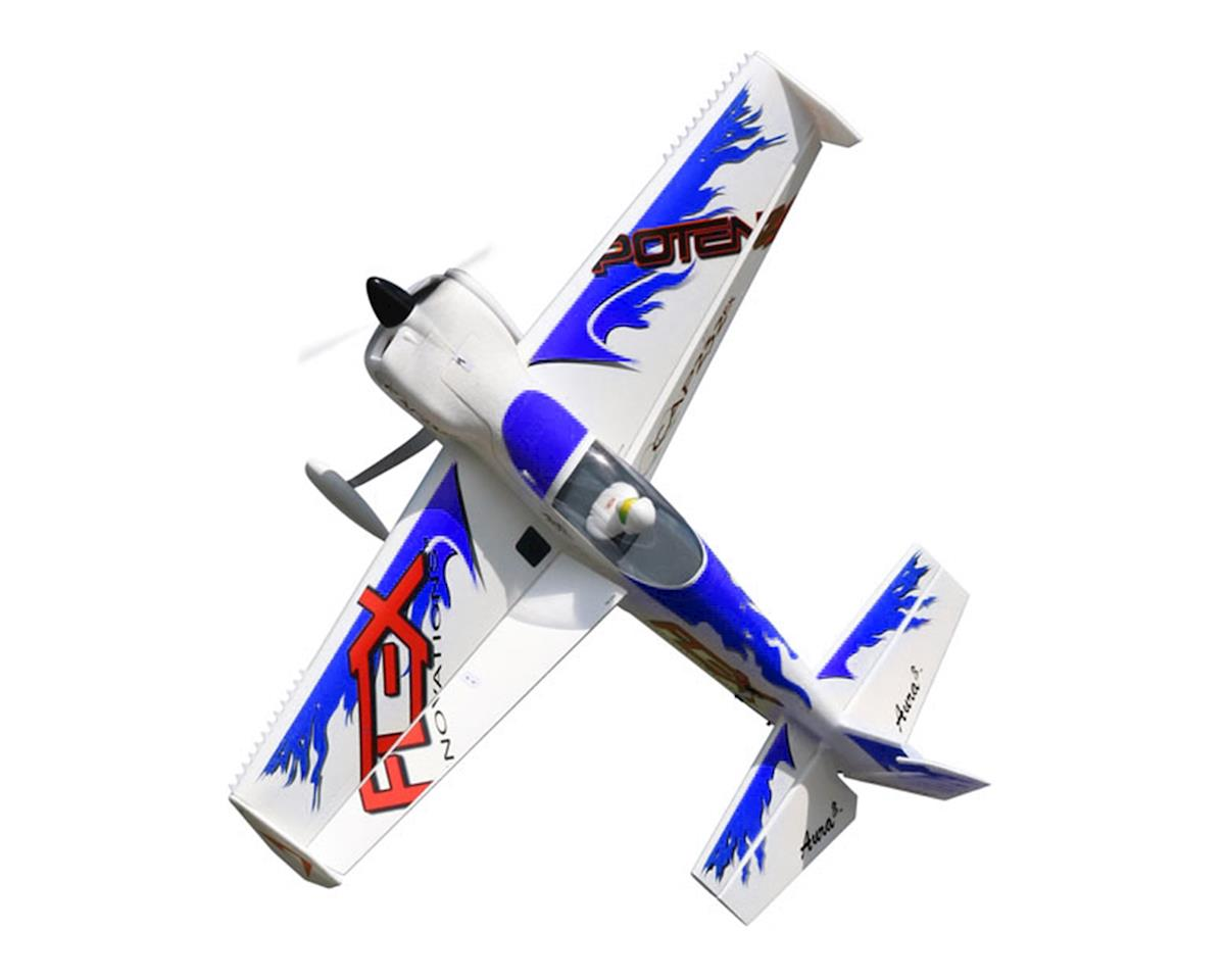 Flex Innovations QQ Cap 232EX Super PNP Electric Airplane (Night Blue)