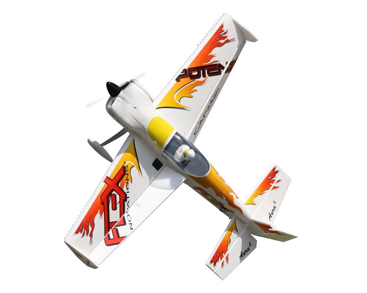 Flex Innovations QQ Cap 232EX Super PNP Electric Airplane (Night Yellow)