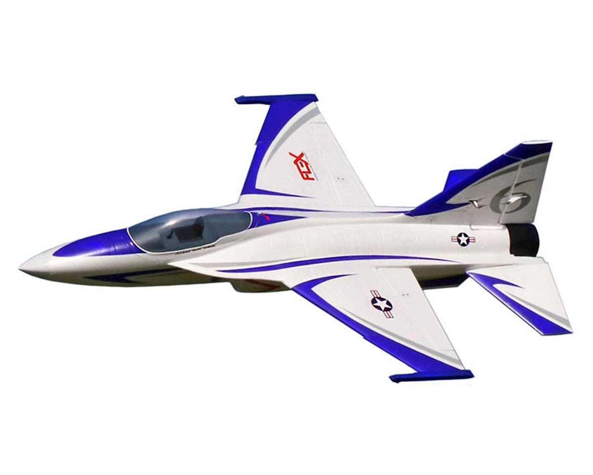 Flex Innovations Flex Jet Super PNP Electric Airplane (Blue) (1056mm)