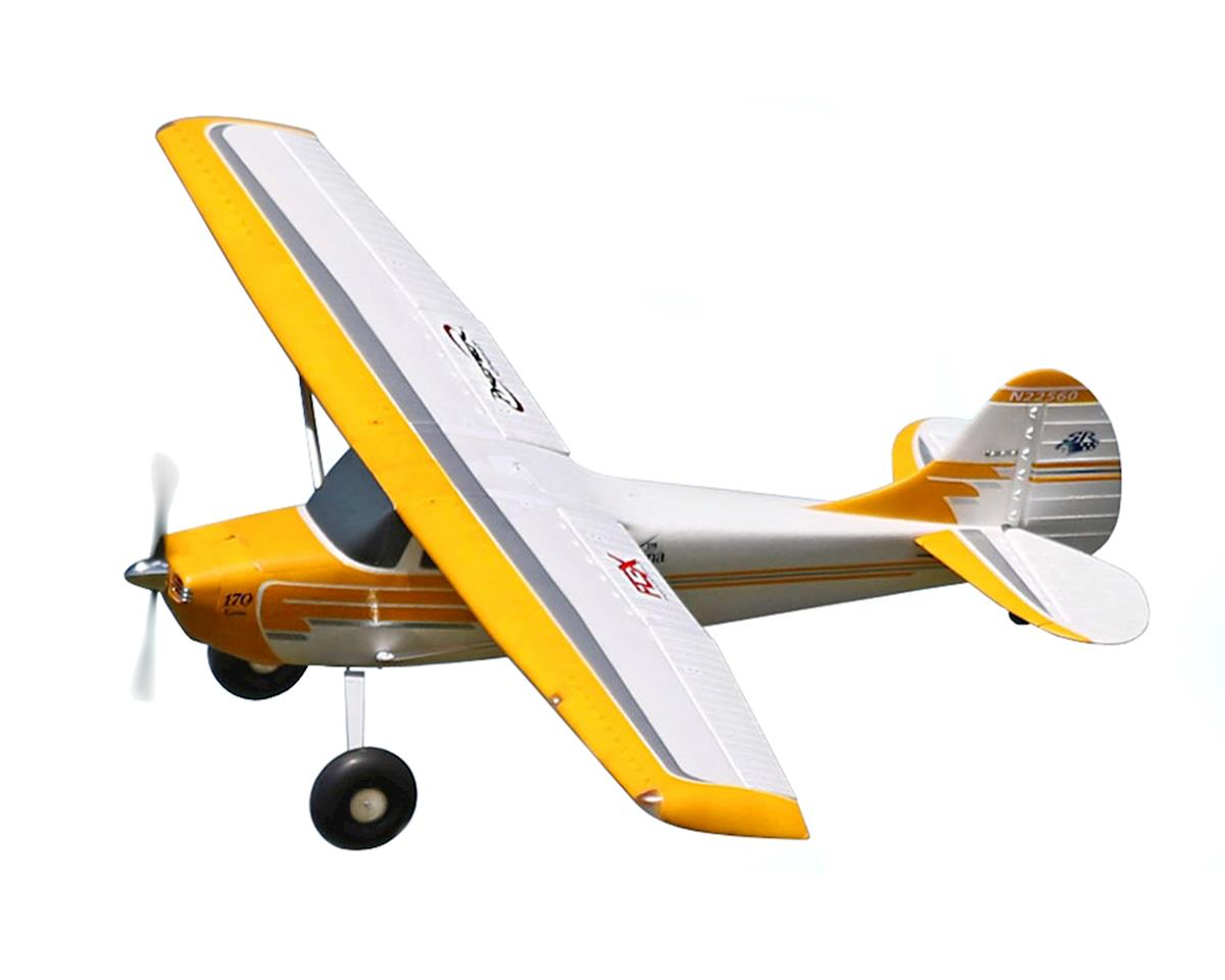 Flex Innovations Cessna 170 Super PNP Electric Airplane (Yellow) (2204mm)
