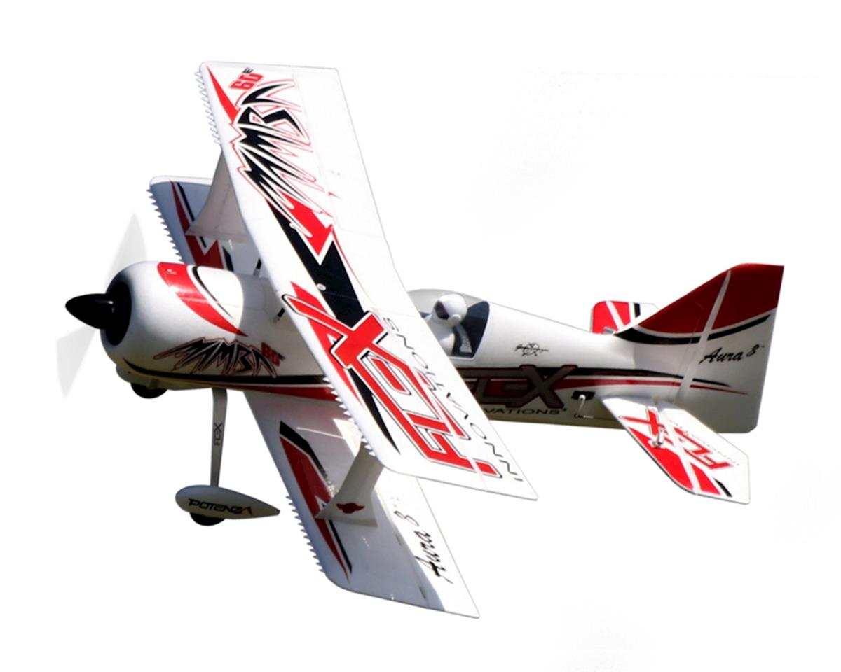 Flex Innovations Mamba 60E+ Super PNP Electric Airplane (Red) (1353mm)