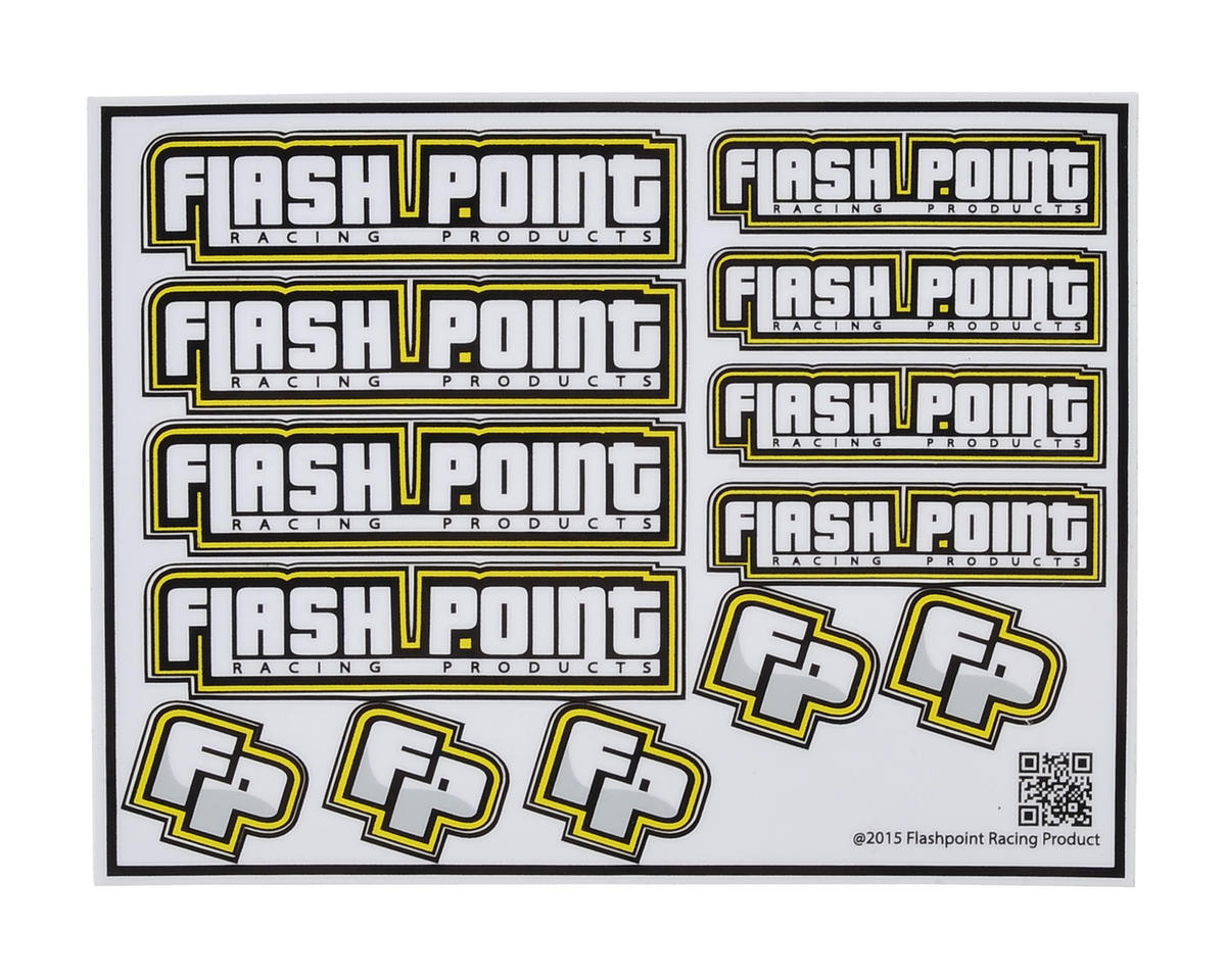 Flash Point Racing Decal Sheet
