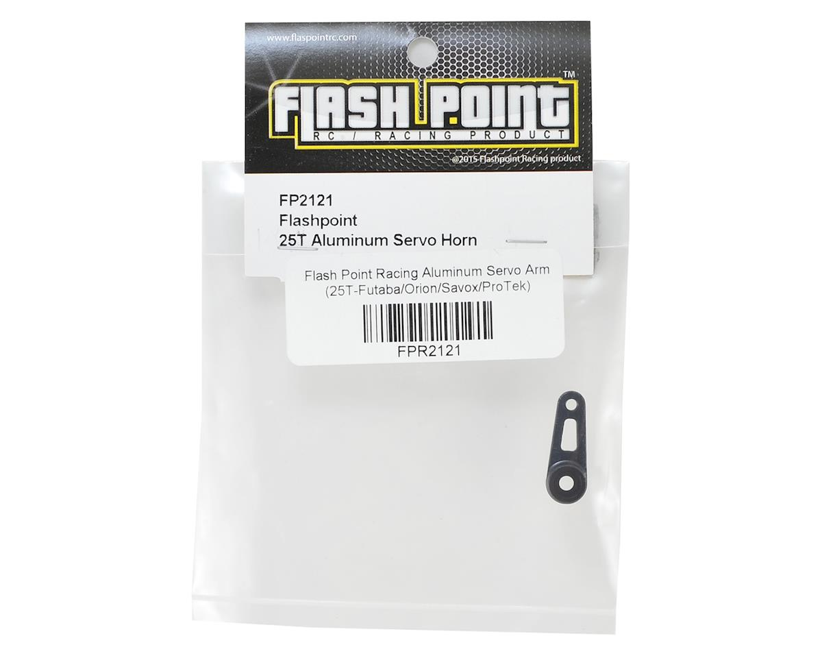 Flash Point Aluminum Servo Arm (25T-Futaba/Orion/Savox/ProTek)