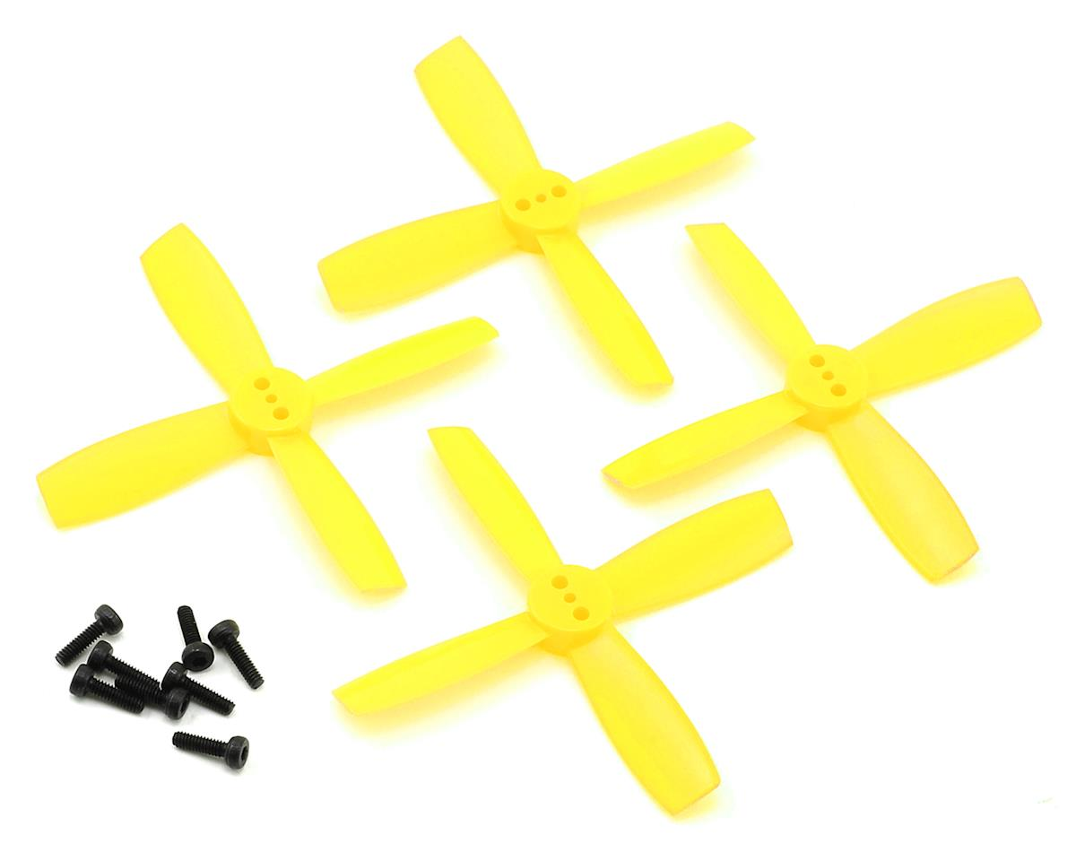 Furious FPV High Performance 2435-4 Propellers (2CW & 2CCW) (Yellow)