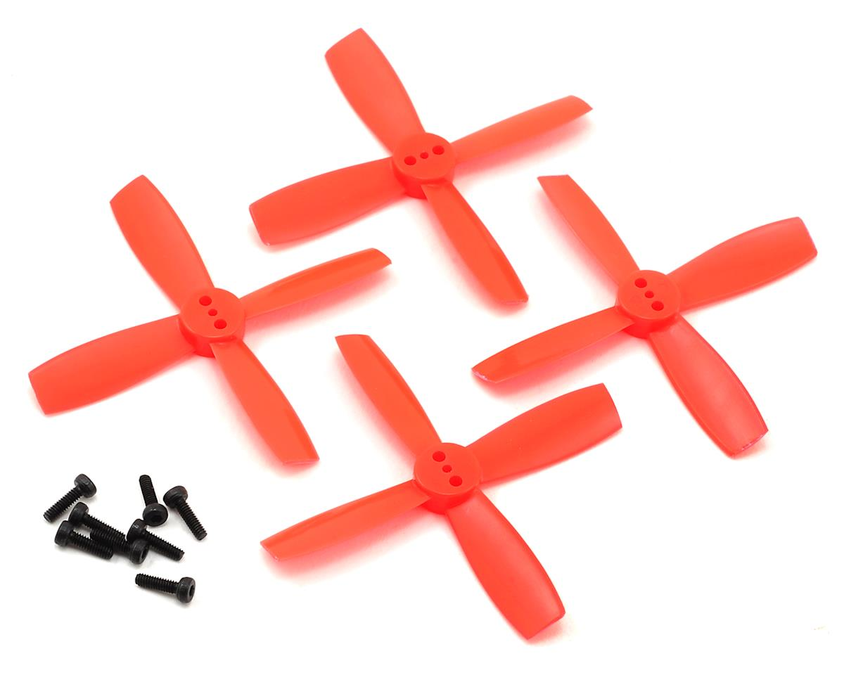 High Performance 2435-4 Propellers (Red) (2CW & 2CCW) by Furious FPV