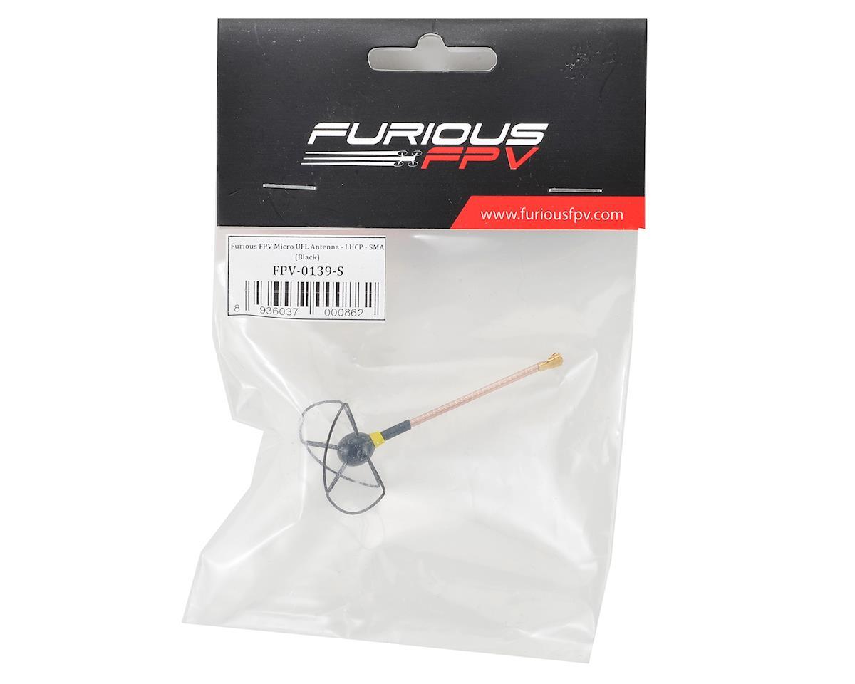 Furious FPV Micro U.Fl Antenna (Black) (LHCP)