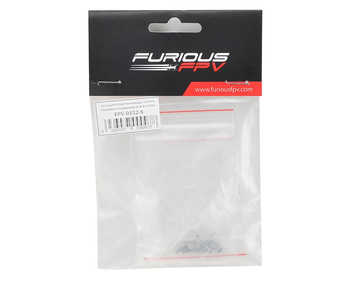 Furious FPV High Performance 1935-4 Propellers (2CW & 2CCW) (Transparent)