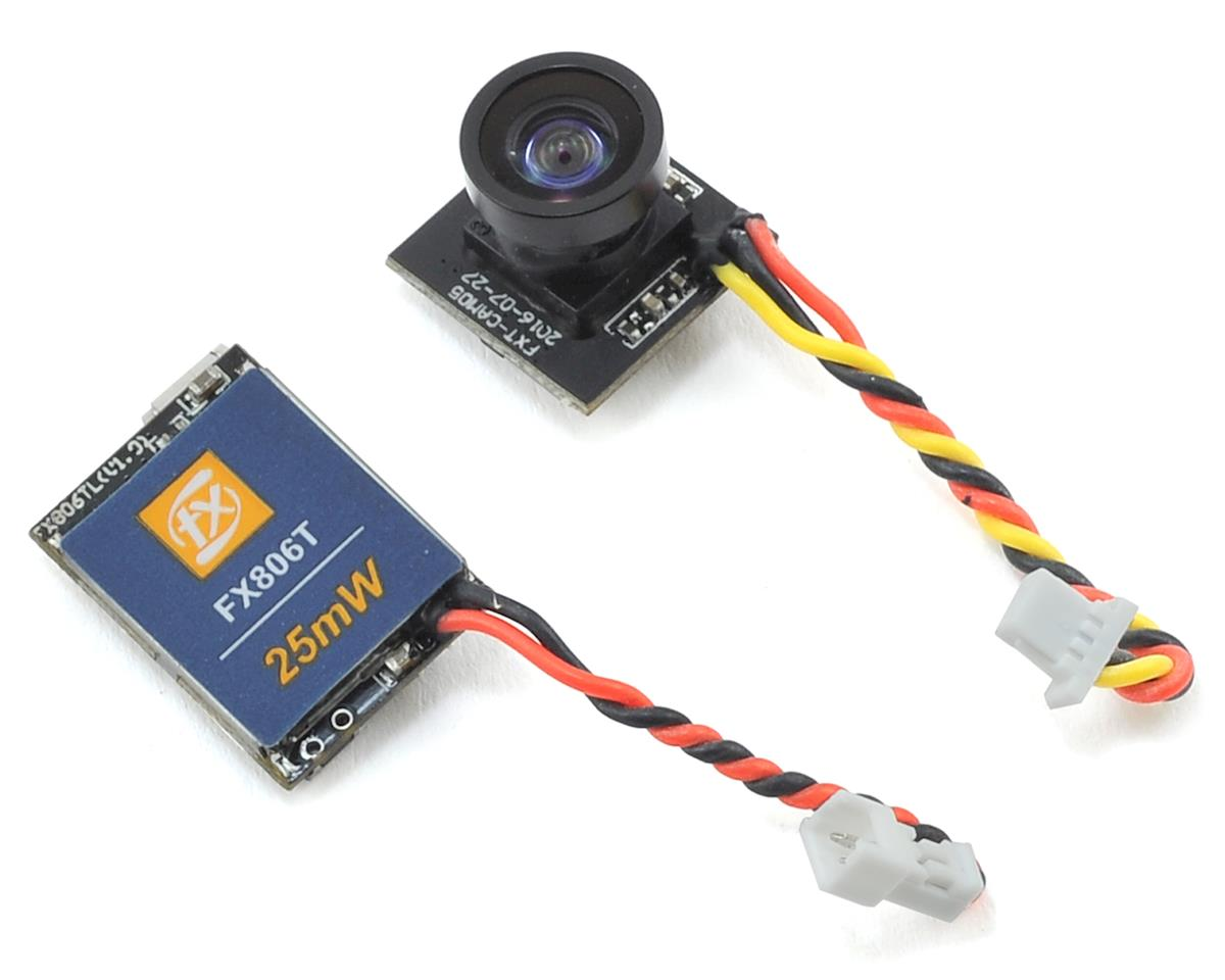 FX806T Camera & 5.8GHz 25mW FPV Video Transmitter Set by Furious FPV