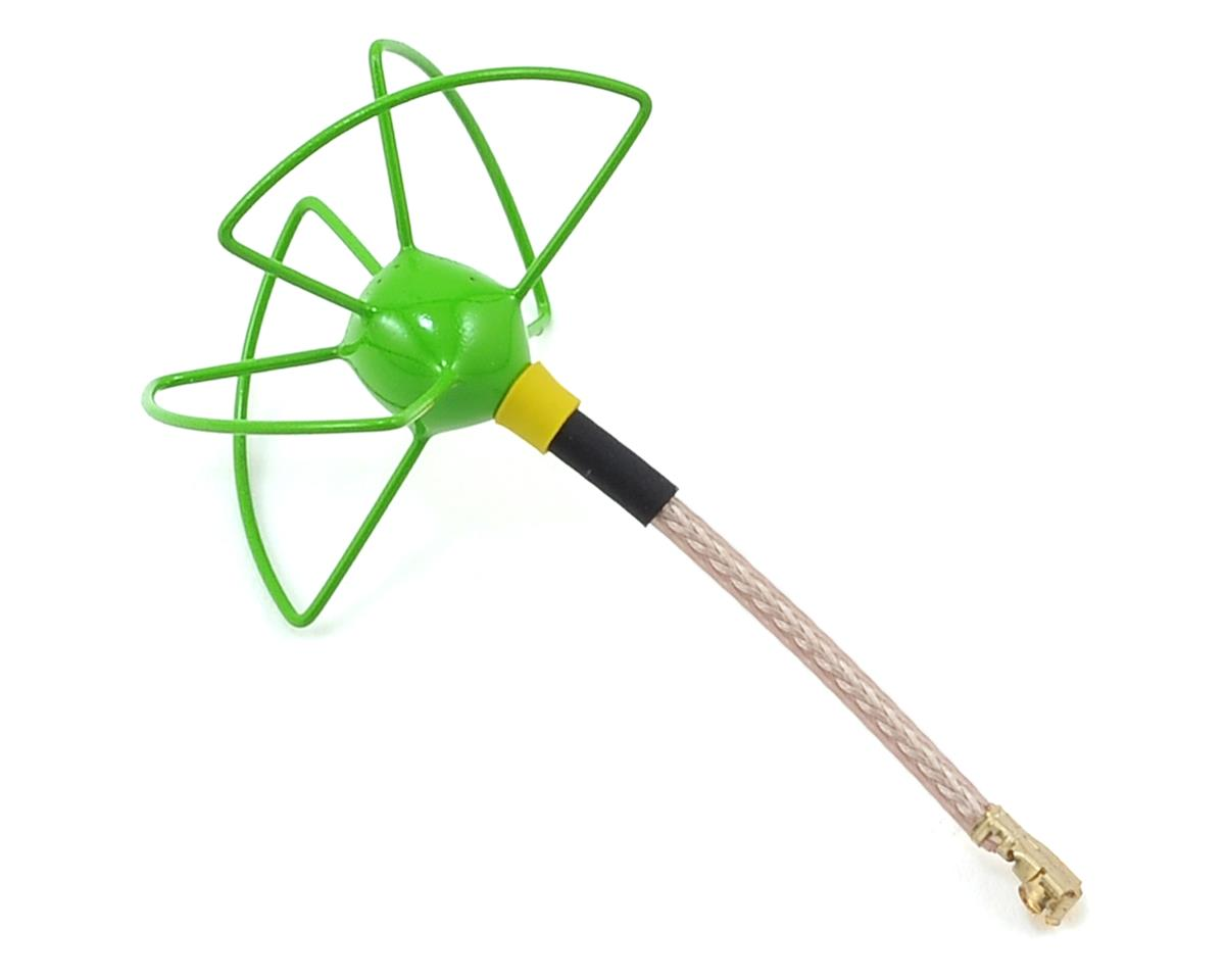 Furious FPV 37mm 5.8Ghz U.Fl LHCP Circular Antenna (Green)