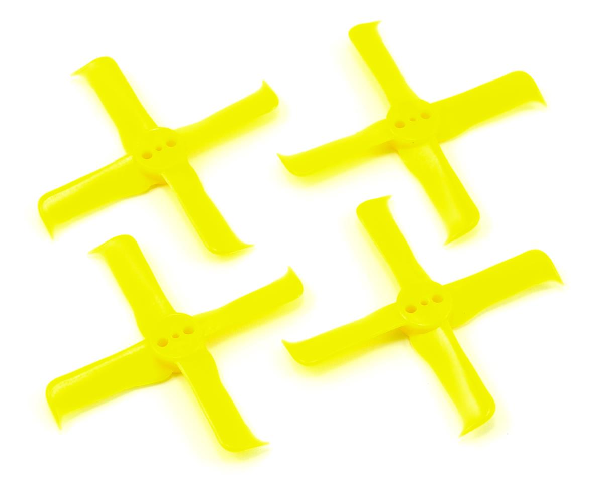 Furious FPV Fleek Prop 2036-4 Propellers (2CW & 2CCW) (Yellow)