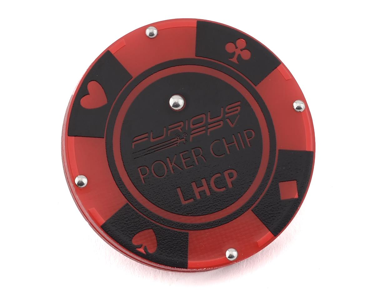 Furious FPV Poker Chip Antenna (LHCP) (SMA)