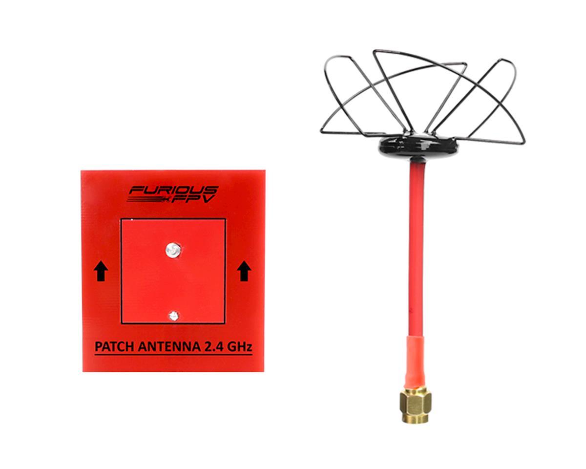 Furious FPV Circular Antenna LHCP 2.4 GHz SMA & Patch Antenna 2.4GHz (SMA)