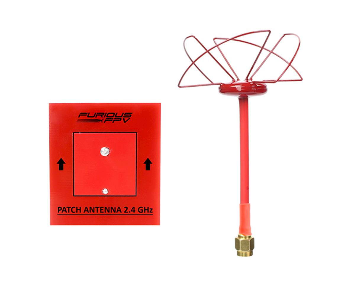 Furious FPV Circular Antenna RHCP 2.4 GHz SMA & Patch Antenna 2.4GHz (SMA)