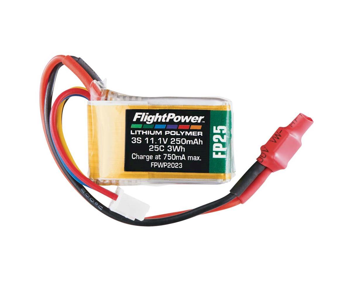 FlightPower LiPo FP25 3S 11.1V 250mAh 25C Micro Plug